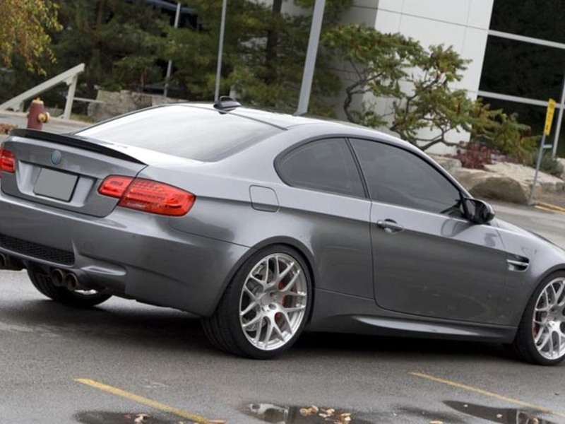 Details About For Bmw E92 M3 Real Carbon Fiber Rear Trunk Boot Spoiler