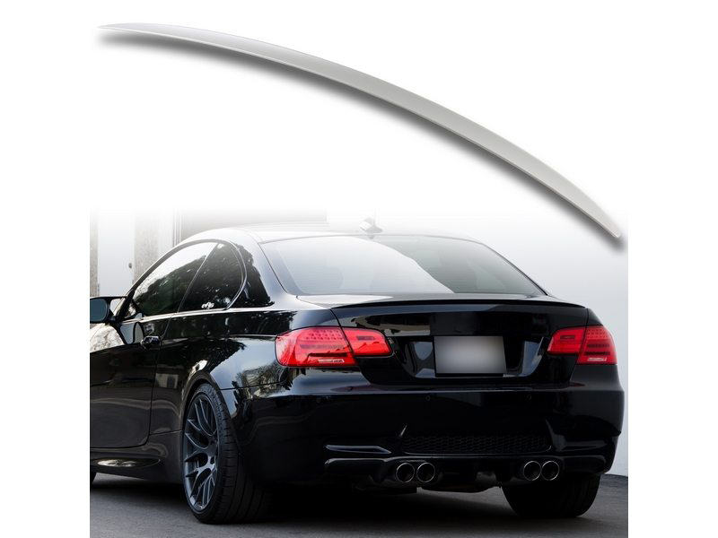 Details About Abs M3 Style Trunk Rear Spoiler Aero Wing For Bmw 3 Series Coupe E92 Unpainted