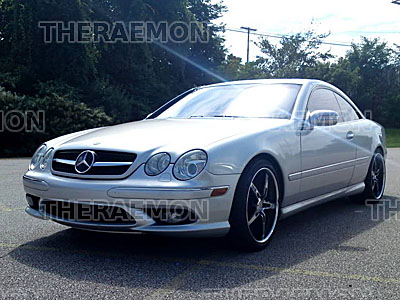 00 06 mercedes w215 cl55 cl500 cl600 grill grille amg. Black Bedroom Furniture Sets. Home Design Ideas
