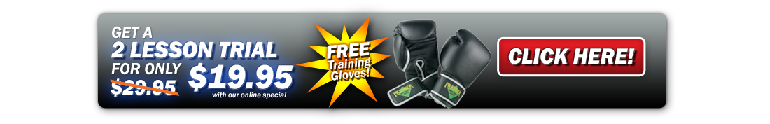 Start Cardio kickboxing LeesSummit class today and receive a free pair of training gloves.