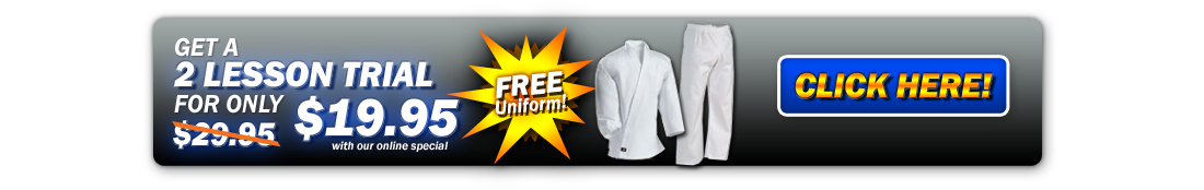 Start Kids Martial Arts classes LeesSummit receive a free uniform.