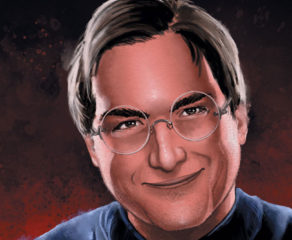 steve jobs illustration by eric summers
