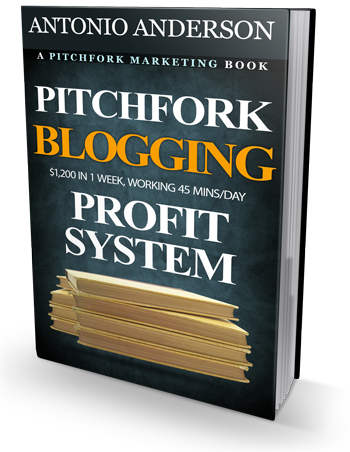[GET] Pitchfork Blogging Profit System: $1,200 In A Week, Working Only 45 Mins/Day [GUARANTEED RESULTS!]