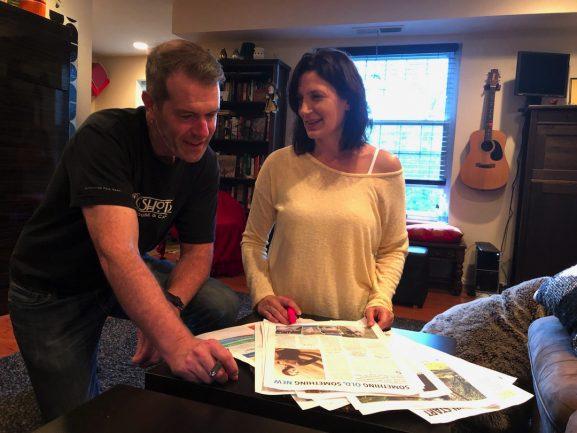 Steve Fillmore and Carolyn Sullivan