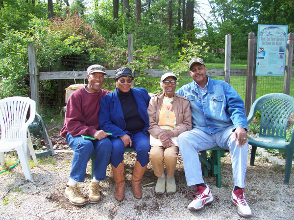Members of Awbury Arboretum Community Garden Club