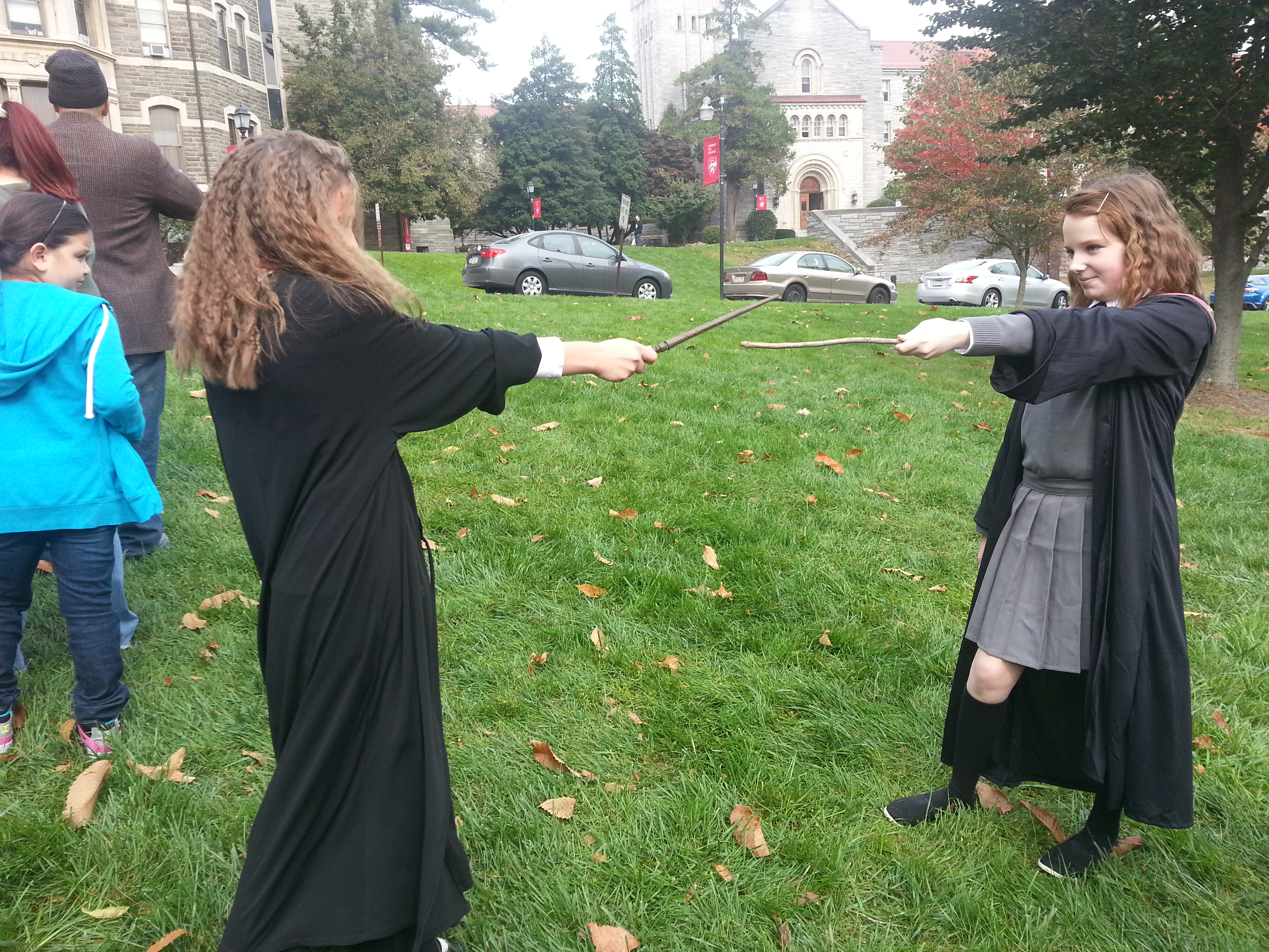 FA2013 Chestnut Hill HP Fest dueling wands