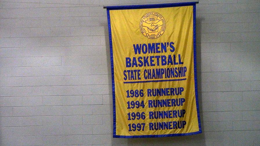 Women's Basketball Banner