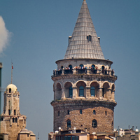 Crop 200 the galata tower