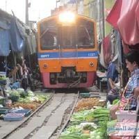 Crop 200 maeklong railway market talad rom hub samut songkhram