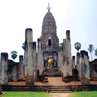 Crop 200 si satchanalai historical park sukhothai wat phra si rattanamahatat chaliang