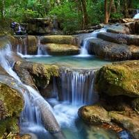 Crop 200 erawan national park kanchanaburi thailand