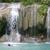 Crop 50 erawan waterfall  kanchanaburi province  thailand   june 2004