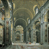 Crop 100 giovanni paolo panini   interior of st. peter s  rome