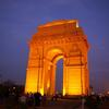 Crop 100 india gate delhi night