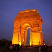 Crop 200 india gate delhi night