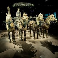Crop 200 4221733 bronze chariot and horses in the museum  the museum of qin shi huang terracotta warriors and horses xi an china 3