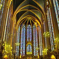 Crop 200 sainte chapelle interior