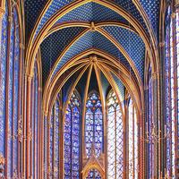 Crop 200 sainte chapelle   upper level 1