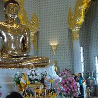 Crop 200 golden buddha bangkok