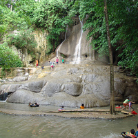 Crop 200 sai yok noi waterfall