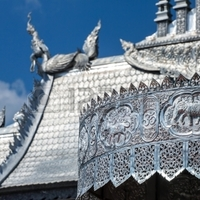 Crop 200 24627061 wat sri suphan the famous silver temple in chiang mai thailand