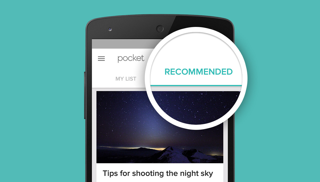 Introducing Recommendations: The Most Interesting Articles and Videos You Might Have Missed