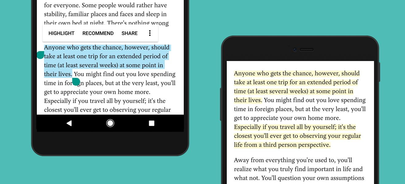 Highlighting has arrived in Pocket for Android!