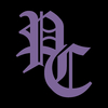 Pc logo purple black cover justcast