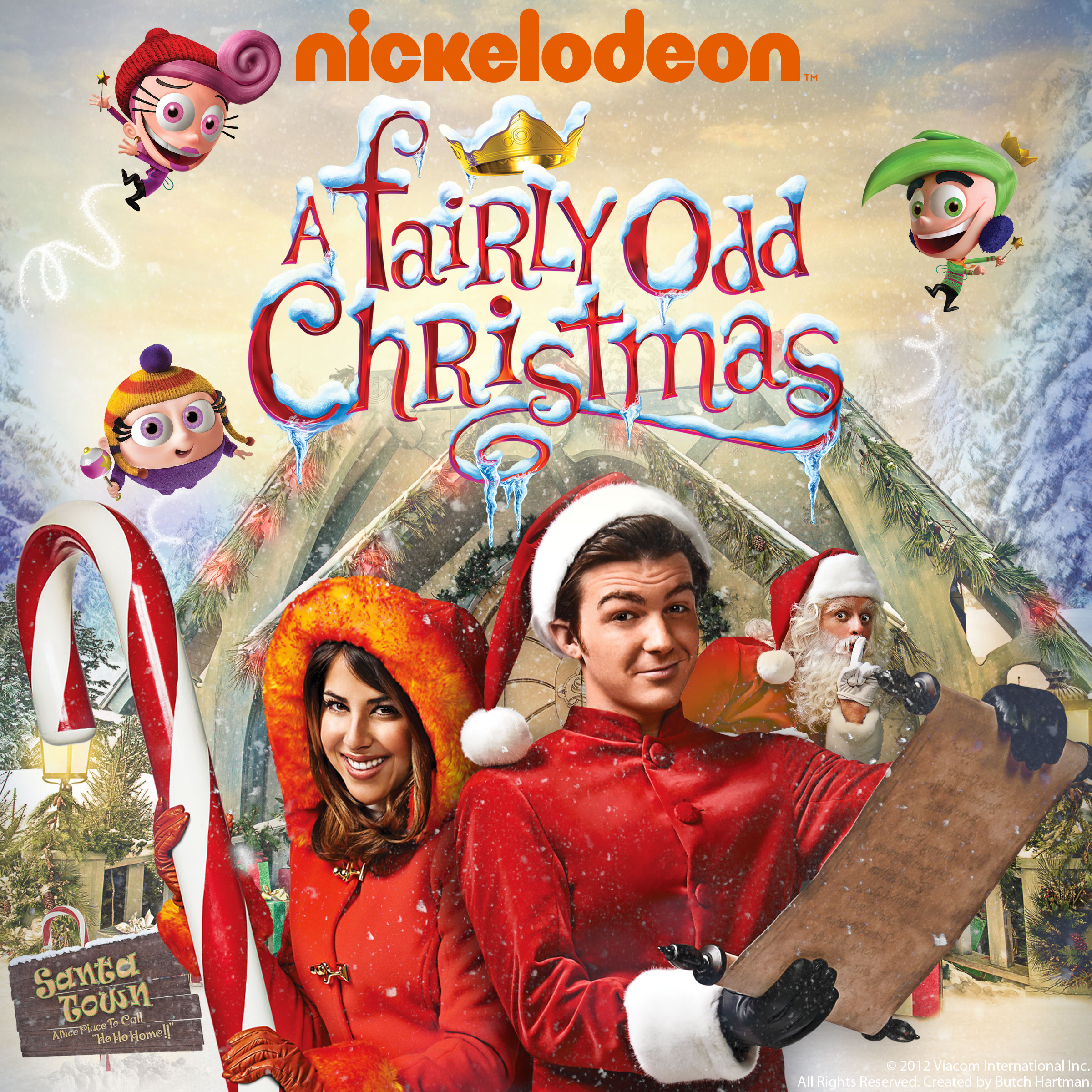fairly oddparents a fairly odd christmas - Fairly Oddparents Christmas