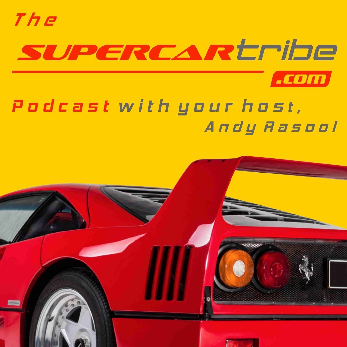 Andy Rasool - Talking Supercars With SupercarTribe.com