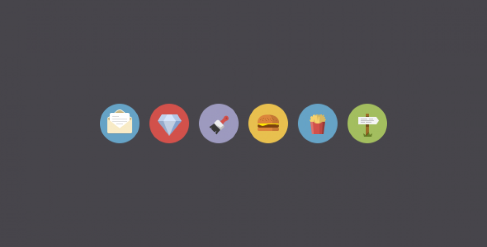 Flatties Vol 2 –  Flat icon set | Ui Parade – User interface design inspiration & design tools