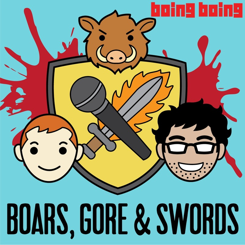 Podknife - Boars, Gore, and Swords: A Game of Thrones