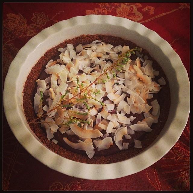 Cardamom & Fleur De Sel Chocolate Ganache Tart