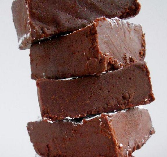 Chocolate & Red Bean Fudge