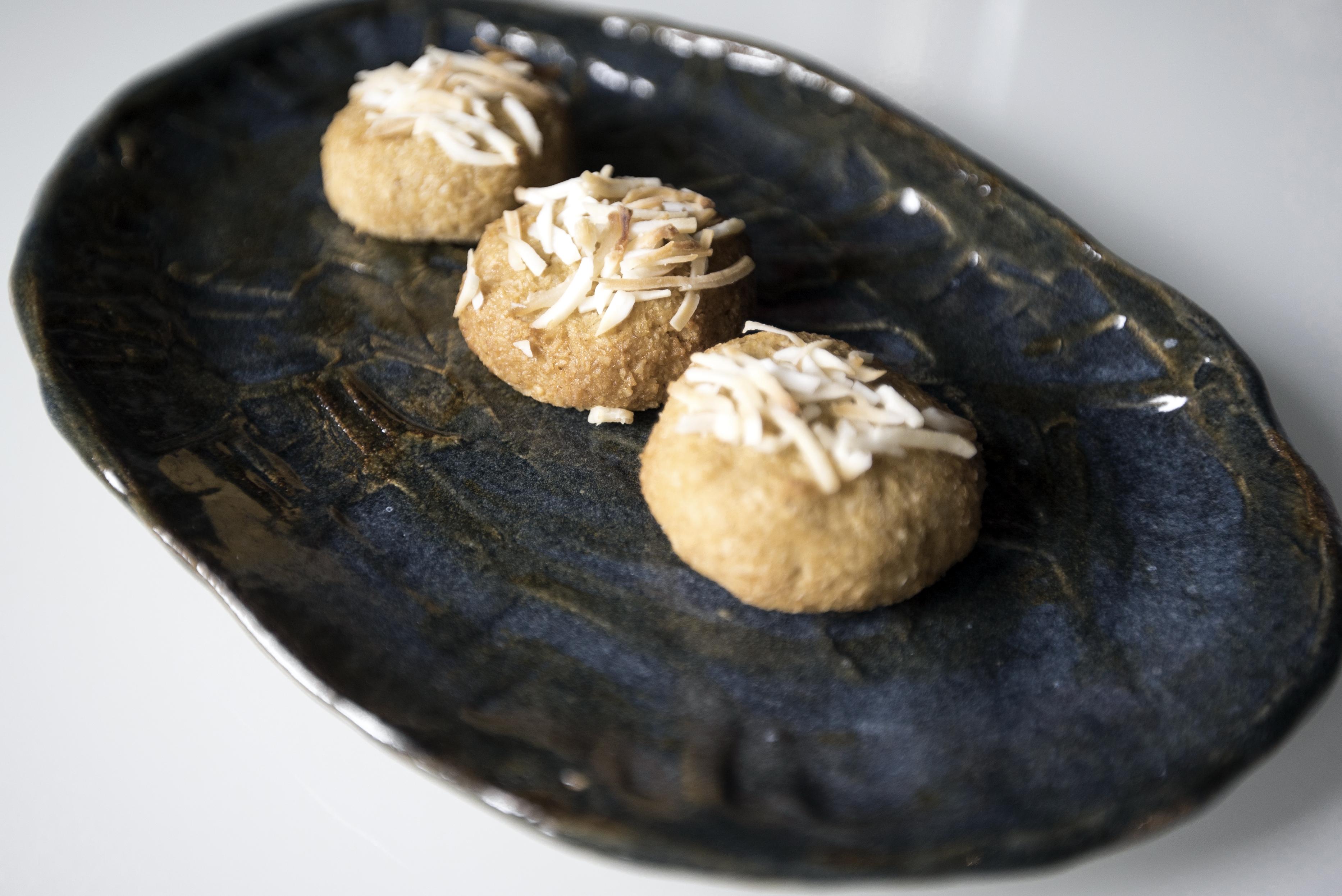 Coconut & Jam Biscuits