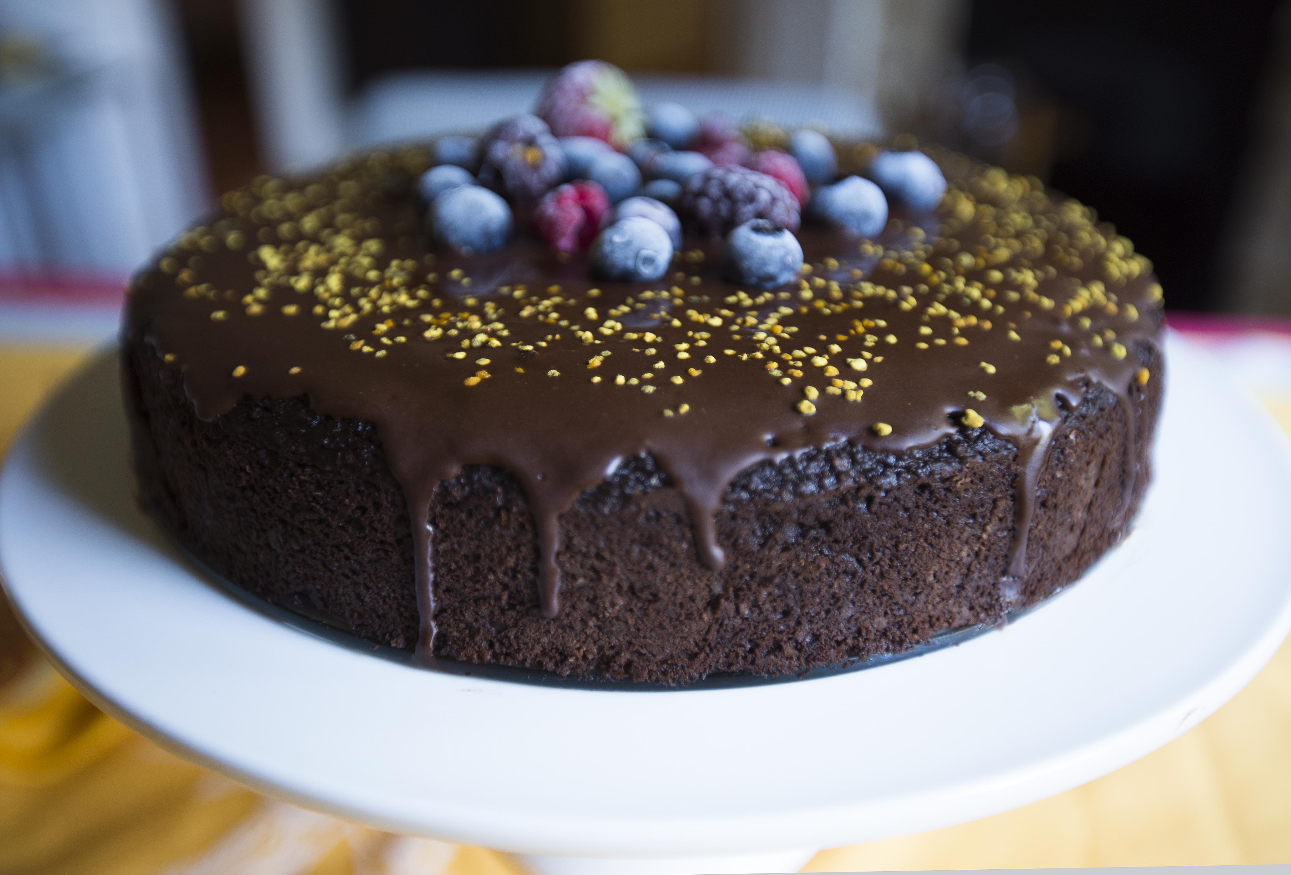 Flourless Sweet Potato & Chocolate Cake