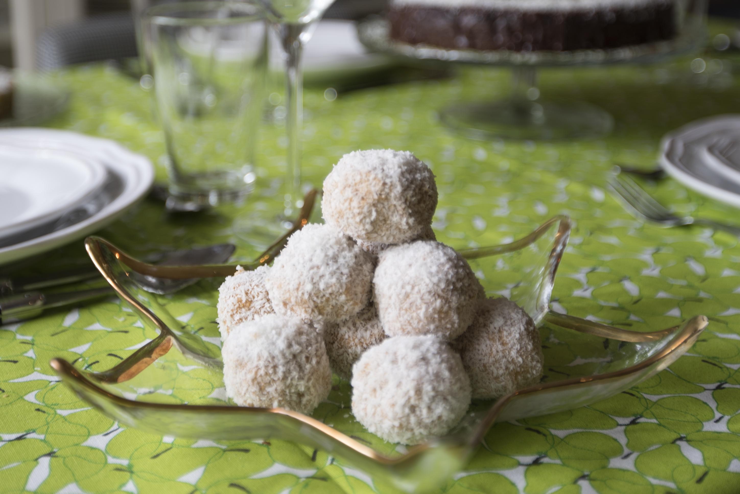 Sweet Potato & Ginger Bliss Balls