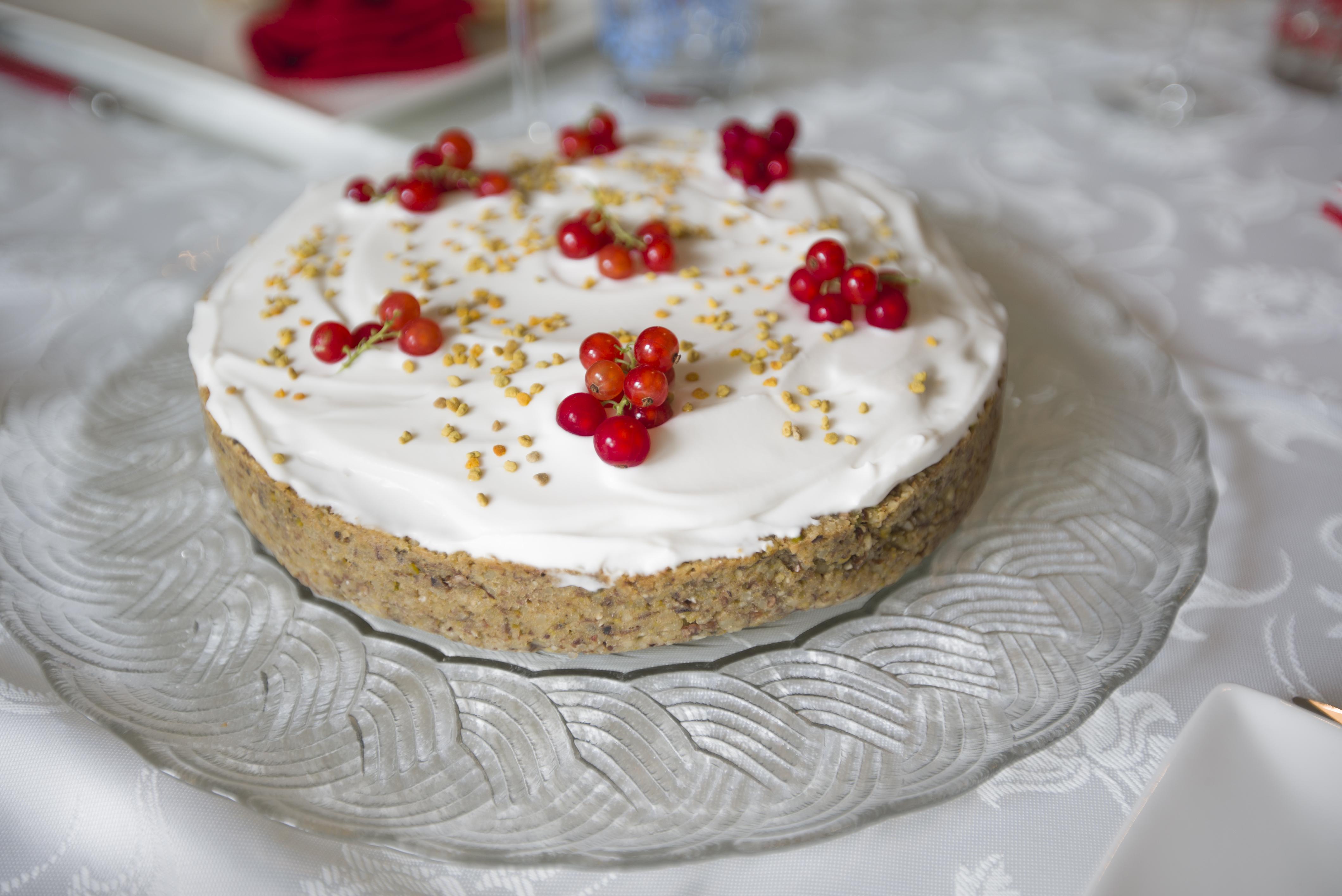 Turkish Pistachio & Almond Cake