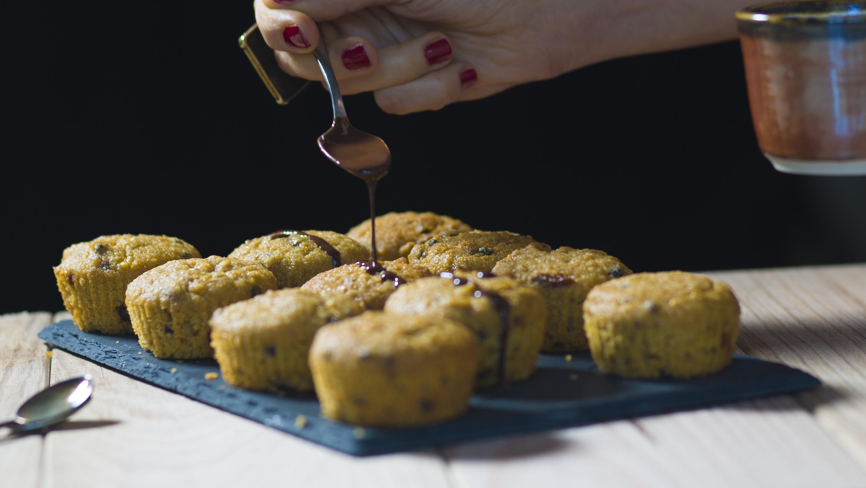 Hot 'fross' muffins