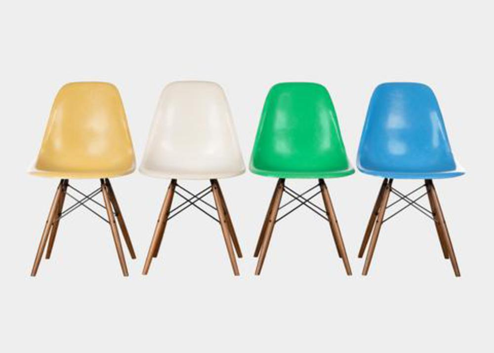 Vintage Eames chairs