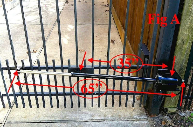 Residential swing gate openers automatic company