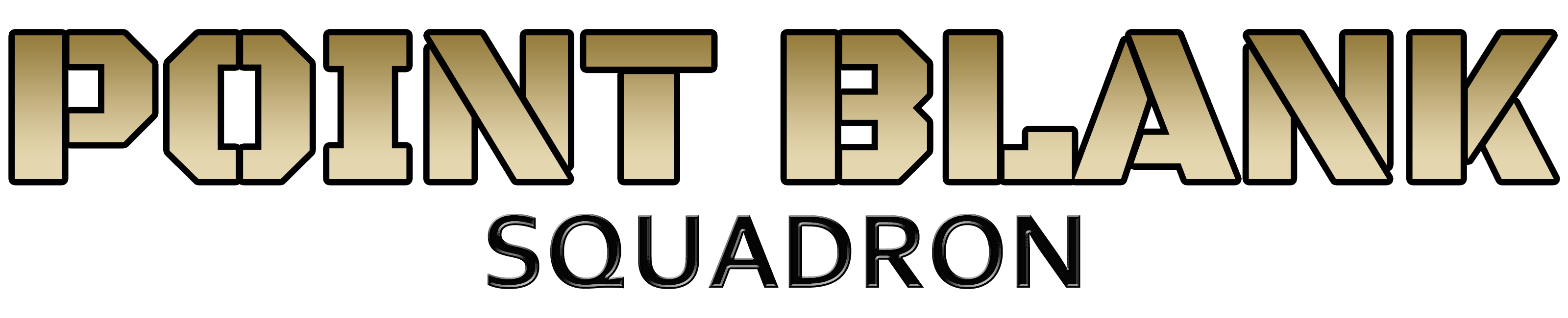 Point Blank Squad Logo
