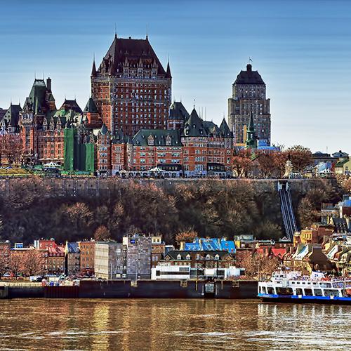 Travel Plans for Old Quebec
