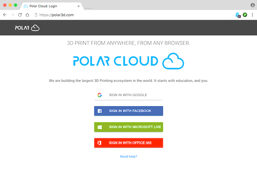 Securely Put (most) any Printer onto the Polar Cloud