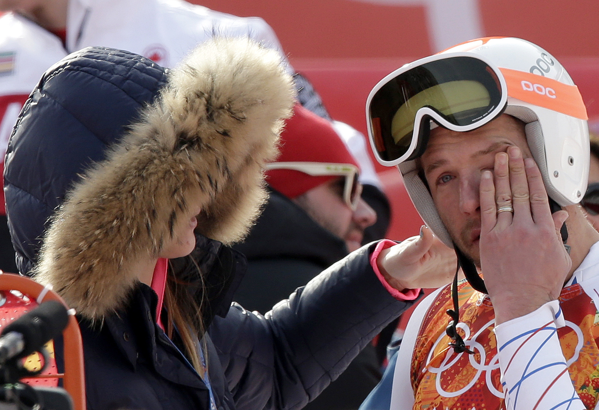 bode, miller, collapses, in, grief, after, being, egged, on, about, his, dead, brother, by, an, nbc, reporter,