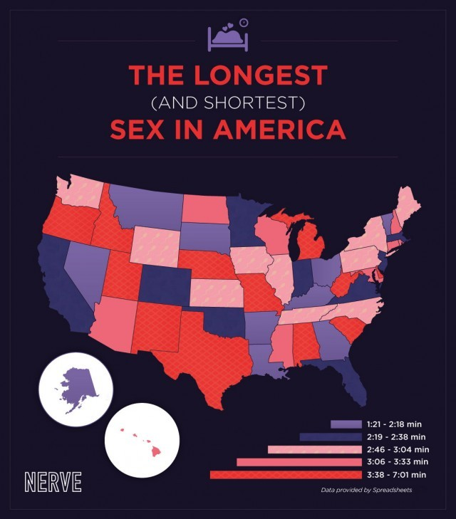which, states, have, the, longest, (and, shortest), sex, in, america?, check, this, map,