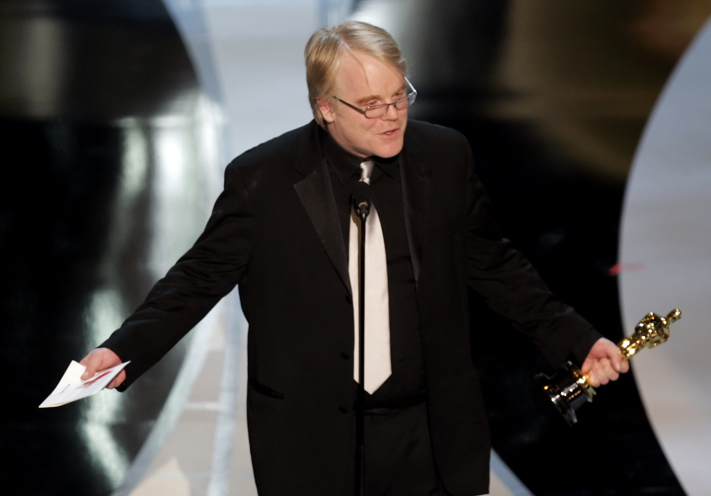 watch, philip, seymour, hoffman's, moving, 'capote', oscar, acceptance, speech,