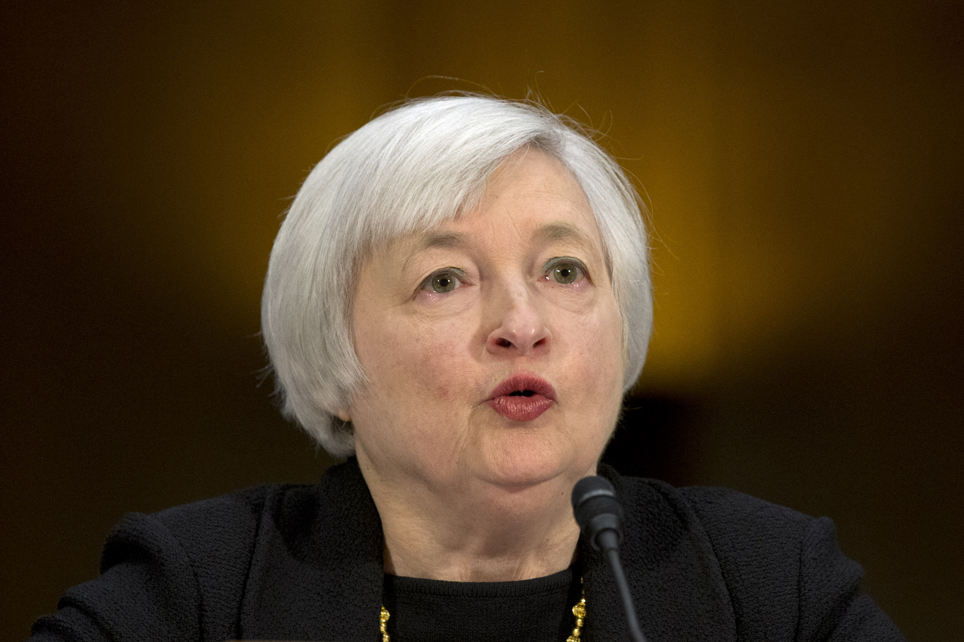janet, yellen, confirmation, hearing:, fed, chair, nominee, must, be, opposed,