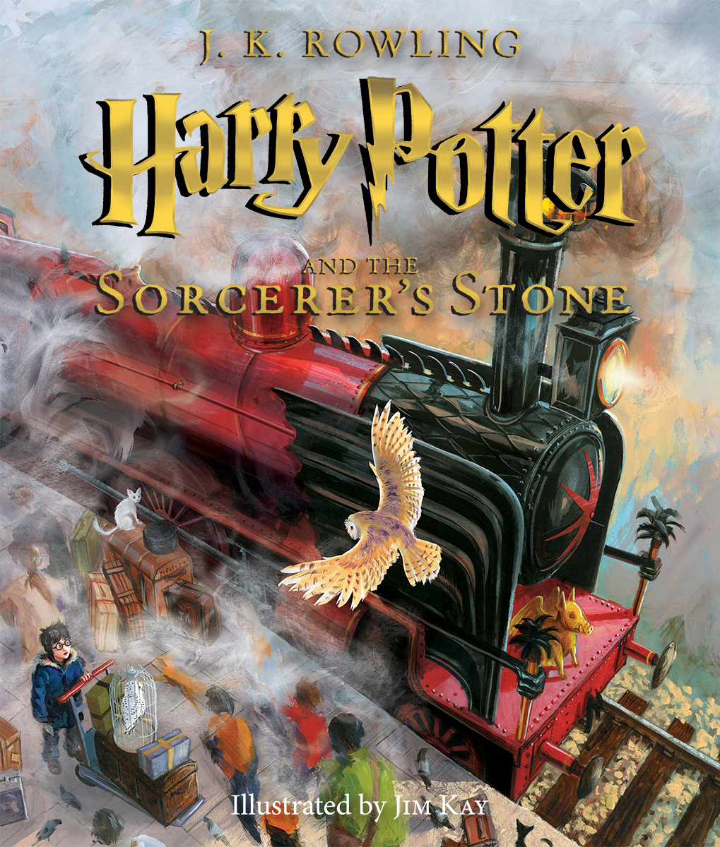 The Illustrated Harry Potter and the Sorcerer's Stone » Review