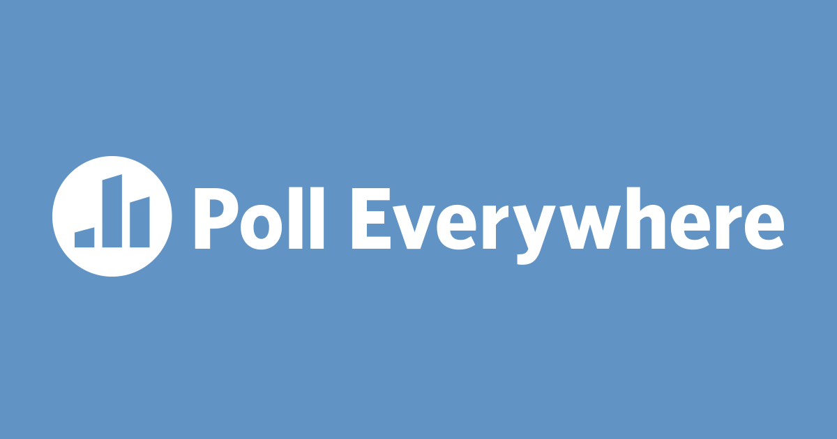 live interactive audience participation poll everywhere